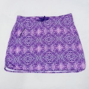 Made for Life Purple Pyramid Skort - Size XLT -NWT